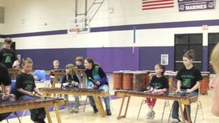 Let the Kids PLay Marimba - Mbira Jam: Walt Hampton