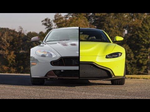 New 2018 Aston Martin Vantage Vs Old Aston Martin Vantage Youtube