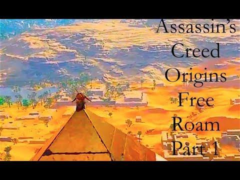Assassin's Creed® Origins|Free Roam 4K|Part 1