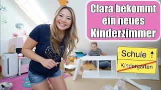 Claras Kinderzimmer gestalten 😍 Spielzeug ausmisten | Spaß im Garten Pool | Mama VLOG | Mamiseelen