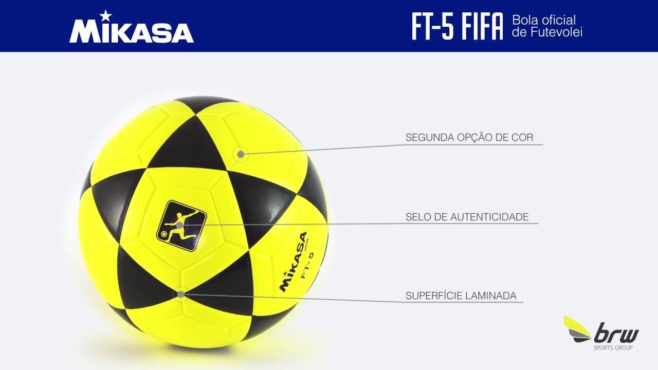 Mikasa - FT 5 FIFA - YouTube 9a6268cb966e5