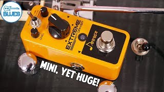Donner Extreme Driver Distortion Pedal! 100% Analog & Affordable!