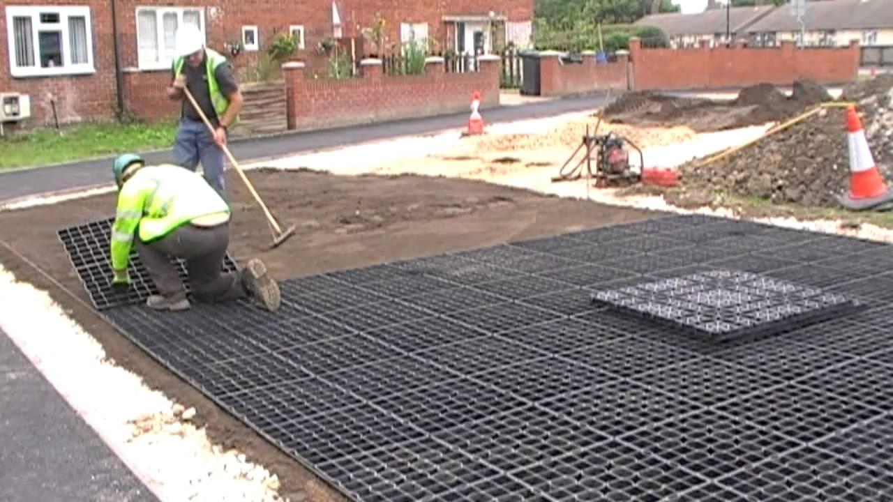 Ground Reinforcement Installation Youtube