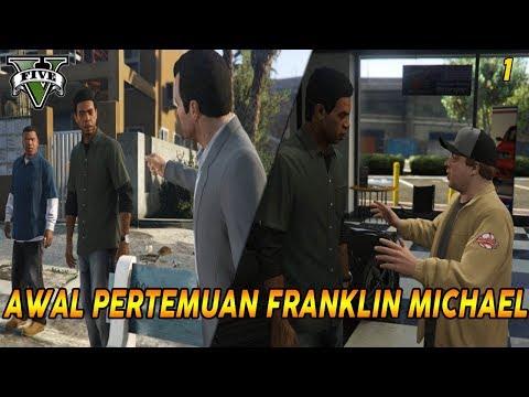 MISI PERTAMA & AWAL  GTA 5   PANDUAN MISI GTA 5 (1) FRANKLIN AND LAMAR   100% GOLD MEDAL