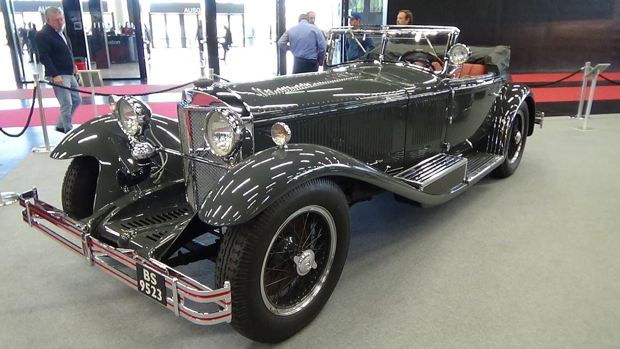 1929 mercedes benz 710 ss exterior and interior for Mercedes benz ss