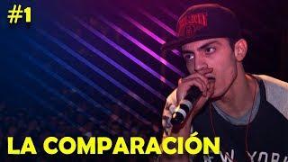 La Comparación #1 | Freestyle Rap (Símil) [Batallas de Gallos] + LETRA