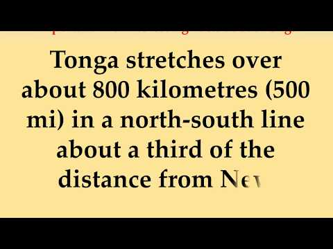 Important and Interesting Facts about Tonga