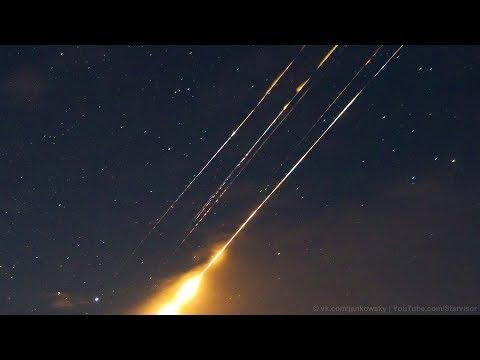 Падение второй ступени ракеты-носителя «Союз-2.1б» в Свердловской области | 21.03.2020