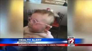 Health Alert: Donations to help infant vision program