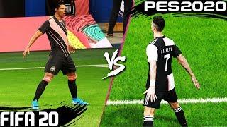 FIFA 20 vs. PES 2020: Celebrations | 4K