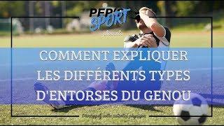 COMMENT COMPRENDRE LES DIFFERENTS TYPES D'ENTORSES DU GENOU