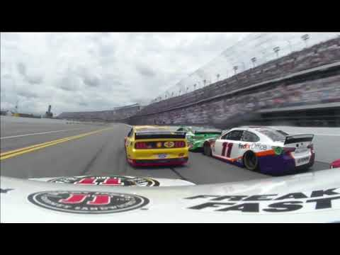 Full NASCAR In-car: Kevin Harvick At Daytona