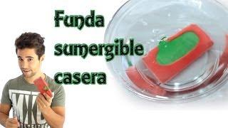 Cómo hacer una funda sumergible para el celular o móvil (Experimentos Caseros) thumbnail