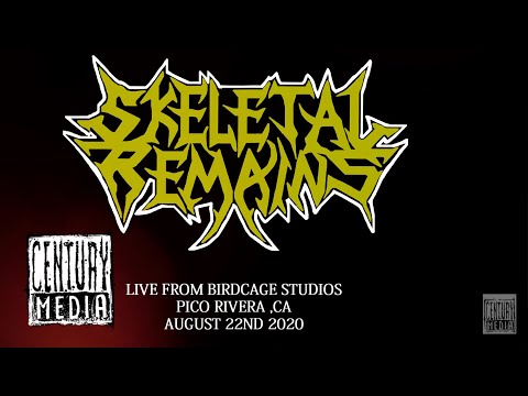 SKELETAL REMAINS – Live at Birdcage Studios 2020