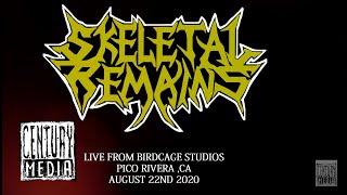 SKELETAL REMAINS – Live at Birdcage Studios 2020