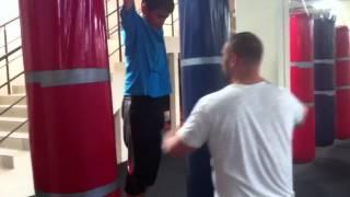 Детская группа первого года обучения,кикбоксинг, т/р Баринринов А.Н