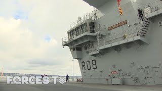 What It's Like On Board Britain's Biggest Warship | Forces TV