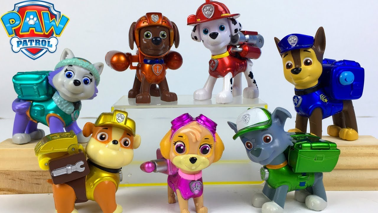 Story With Paw Patrol Pups At The Local Pool Rubble