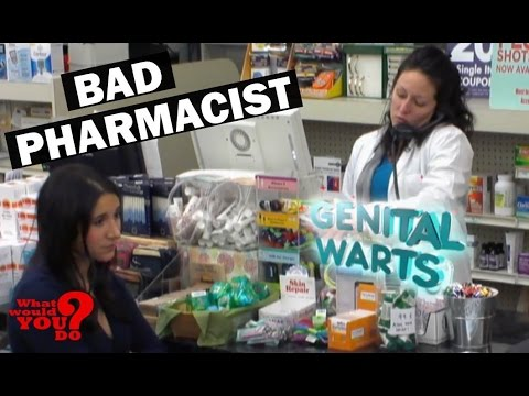 Pharmacist Embarrasses Patients | What Would You Do? | WWYD