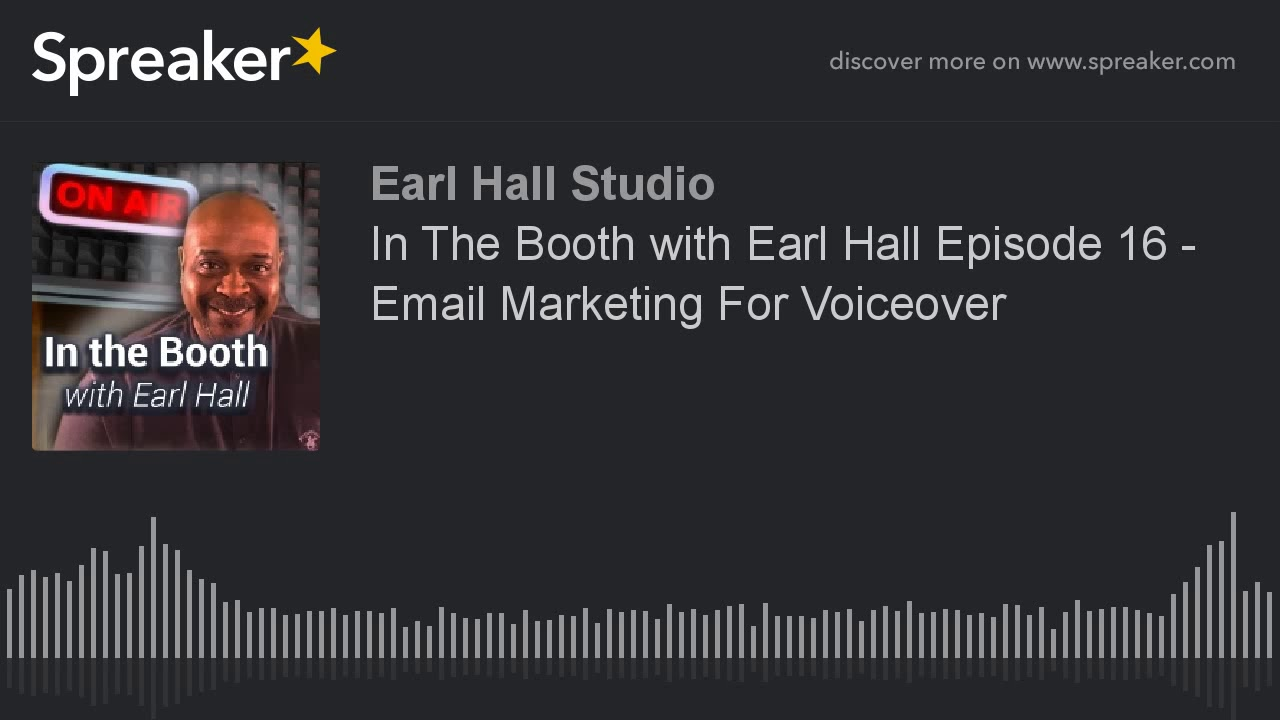 Earl Hall Voice-over