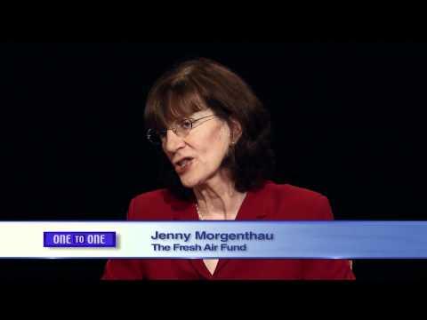 One to One:  Jenny Morgenthau