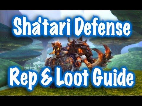 sha tari defense rep guide