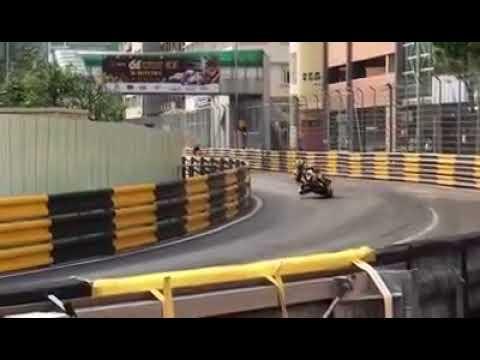 Danial Hegarty Fatal Crash in Macau GP 2017  - Amateur Video