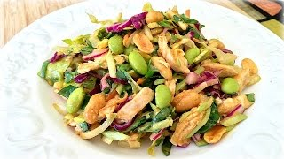 Spicy Peanut Dressing - Crunchy Thai Salad Recipe
