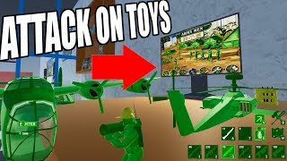 Army Men RTS 2? Stopping the Tan Invasion Attack on Toys