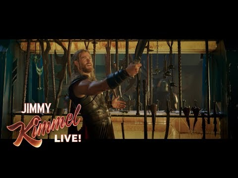 Chris Hemsworth Shares EXCLUSIVE Thor: Ragnarok Clip