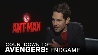 Paul Rudd Talks Alternative 'Ant-Man' Superhero Names | EXTENDED