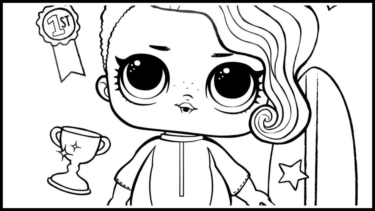 Pintar Desenhos Das Bonecas Lol Surpresa Youtube