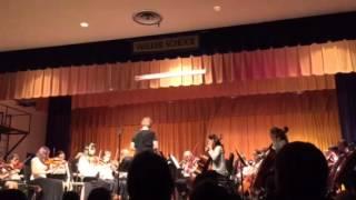 Spring concert, Walker upper Elementary orchestra