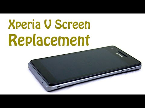 Sony Xperia V LT25i screen replacement