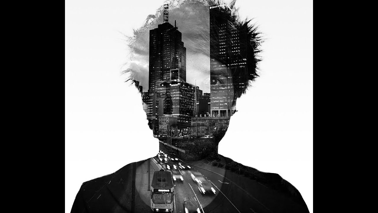 How to Create Double Exposure Portaits in Adobe Photoshop - YouTube