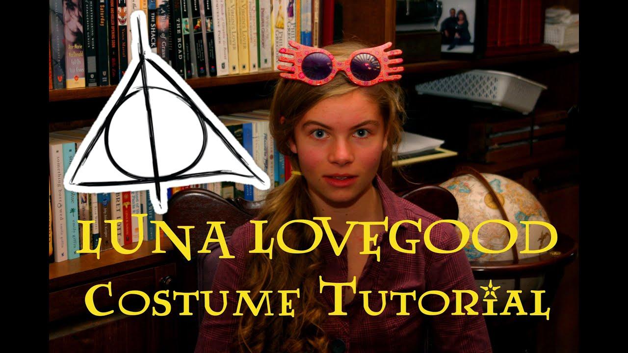 Luna Lovegood Costume Tutorial Halloween Handbook Youtube