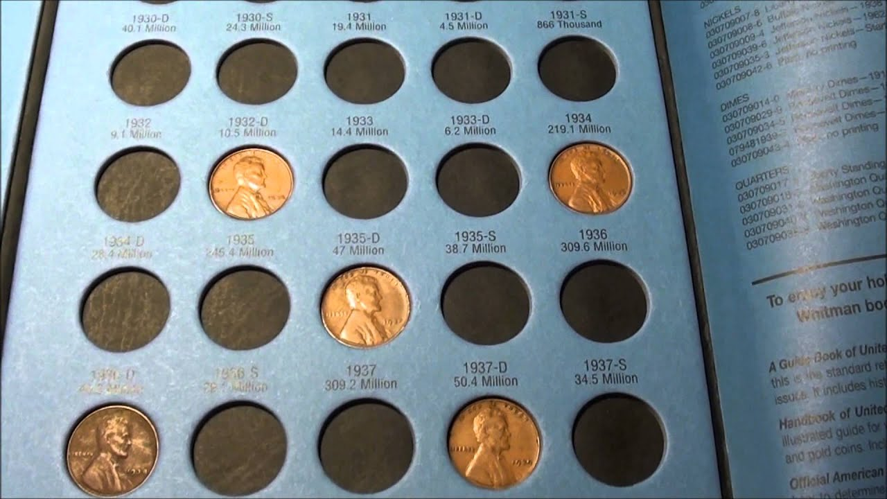 Coin Roll Hunting And How To Safely Your Collection Whitman Folders