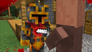 Mc Naveed Gets Stabbed By An Evil Villager Mod  Survival In The Village  Minecraft
