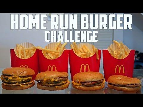 Home Run Burger Challenge