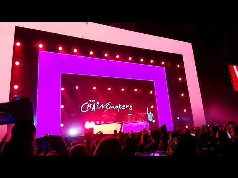 The Chainsmokers perform Something just like this at the Capital's Jingle Bell Ball 2017