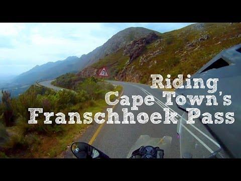 Riding Franschhoek Pass, South Africa