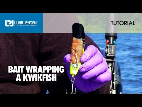 How To Bait Wrap A Kwikfish®: Luhr-Jensen® TECH TIPS