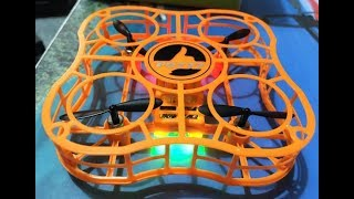 FQ777 CAGE DRONE Great Kids Drone FLIGHT REVIEW