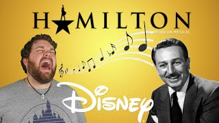 Hamilton: The Walt Disney Cover