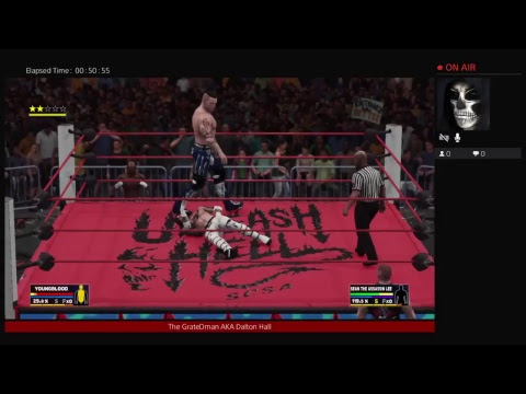 TheGreatDMan Wwe 2K18 playing with my sister Baylee Part  1