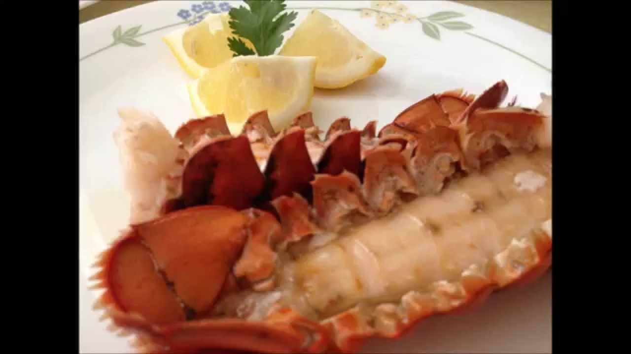 Colas de langosta al horno, lobster, mantequilla I Lorentix - YouTube