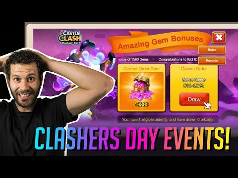 Insane P2p Rewards New Gem Event Castle Clash