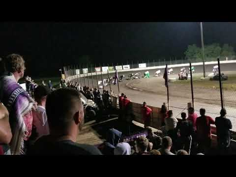 English Creek Speedway 250 Wing Kart Nationals Feature  08/07/18