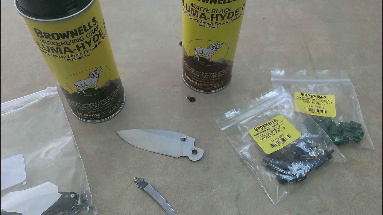 Aluma Hyde II Knife Project