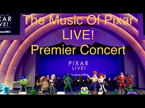 'The Music of Pixar LIVE! A Symphony of Characters' - Premier Highlights Disney's Hollywood Studios